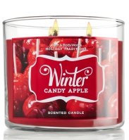 3-wick candle from Bath and Body Works