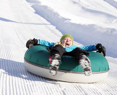 Tubing is a great activity to do with your family or friends.