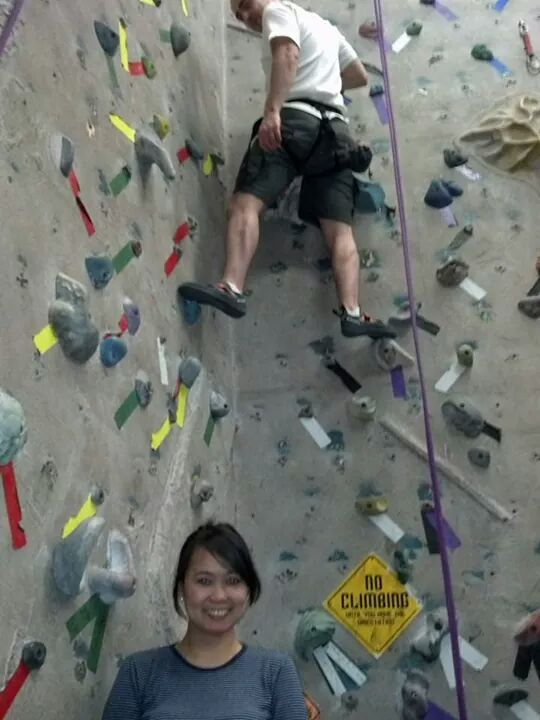 Climb in Calgary