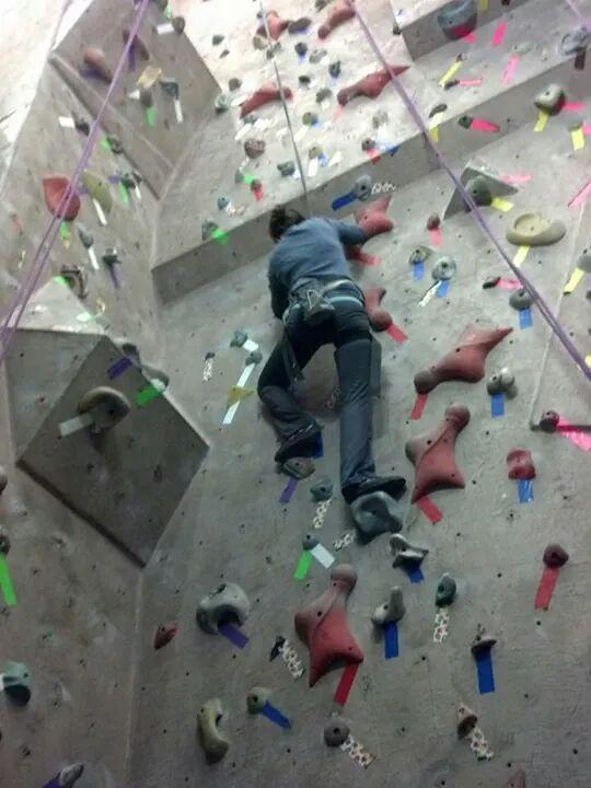 Calgary Climbing Wall